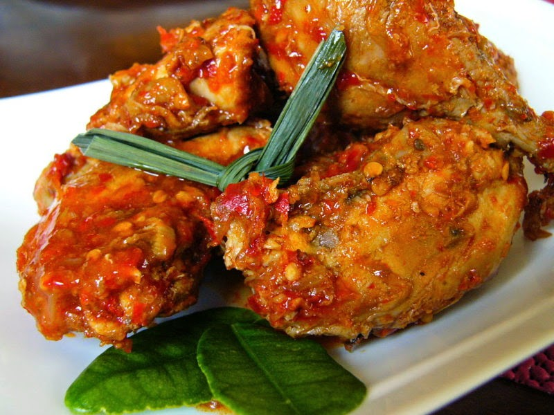 resep ayam goreng rica pedas enak dan spesial untuk keluarga