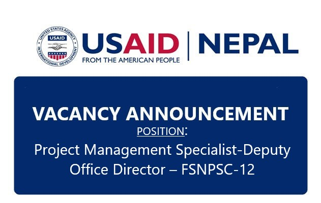 USAID/Nepal Vacancy Announcement