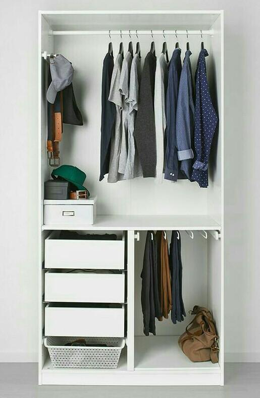 Inspirasi desain lemari dan rak minimalis - Benu craft