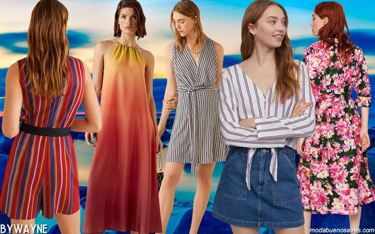 Colores de moda primavera verano 2020. Moda 2020.