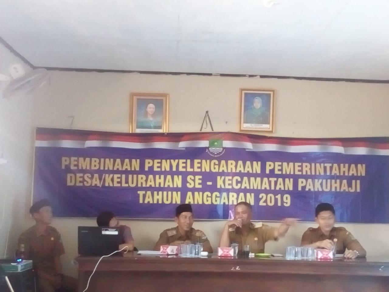 Kades Kramat Gelar Ekspos Realisasi APBDes 2019