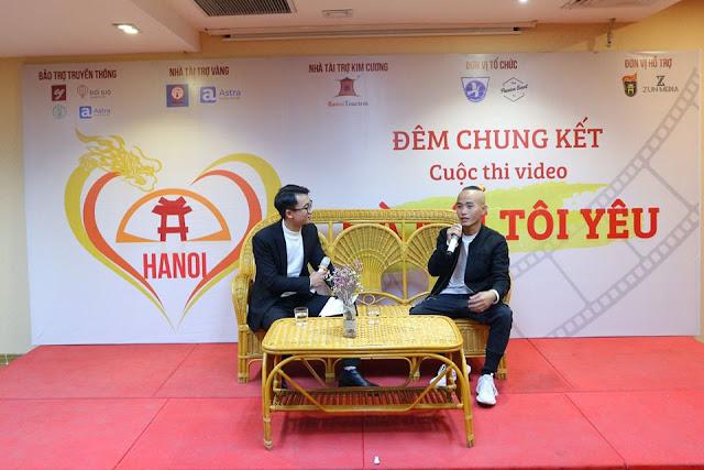 """Đêm chung kết cuộc thi video """"Hà Nội tôi yêu"""" tại Hội trường Vplace"""