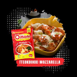 Omoni Tteokbokki Mozzarella