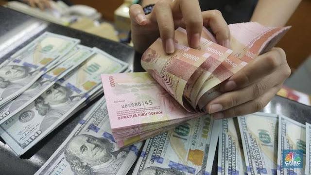 Pemerintah Prediksi Rupiah Bakal Kembali Tembus Rp15 Ribu Lebih/USD
