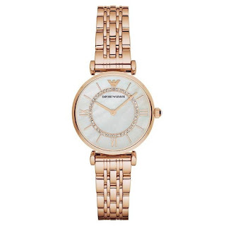 Emporio Armani Women's Mother Of Pearl AR1909