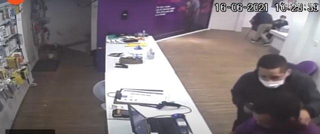 Assaltantes de loja do centro de Registro-SP podem estar em Barra do Turvo