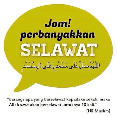 Jom Hidupkan Sunnah! اللَّهُمَّ صَلِّ عَلَى مُحَمَّدٍ وَعَلَى آلِ مُحَمَّدٍ  selawatkanlah ke atas Nabi Muhammad dan ke atas keluarganya Salam Maulidur Rasul BIODATA RASULULLAH S.A.W  ISTERI-ISTERI RASULULLAH SAW ANAK-ANAK RASULULLAH SAW ANAK TIRI RASULULLAH SAW IBU SUSUAN/SAUDARA SUSUAN SAUDARA SUSUAN BAPA DAN IBU SAUDARA RASULULLAH SAW