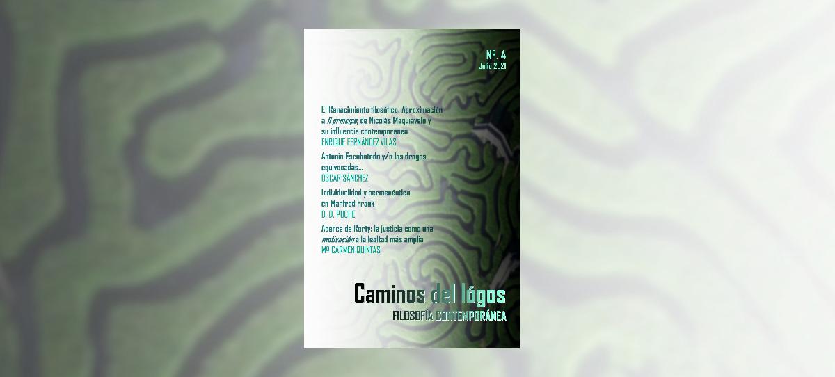 Caminos del lógos | Revista de filosofía y humanidades | N.º 4.