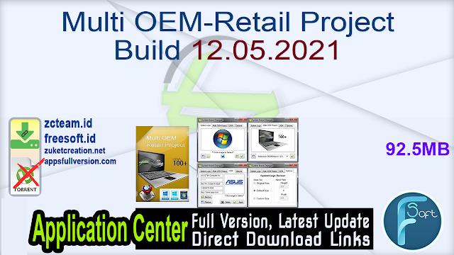 Multi OEM-Retail Project Build 12.05.2021_ ZcTeam.id