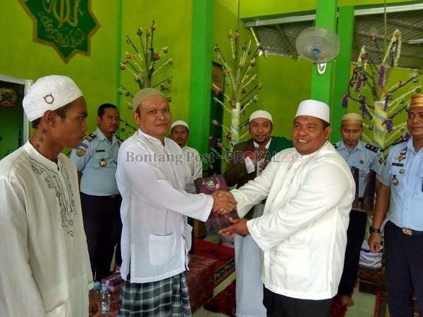 Subhanallah! Tiga Warga Binaan di Lapas Ini jadi Hafiz Terbaik