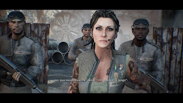 Terminator  Resistance comandante Baron