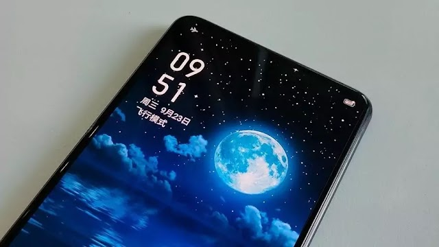 Realme teases an under display camera smartphone.