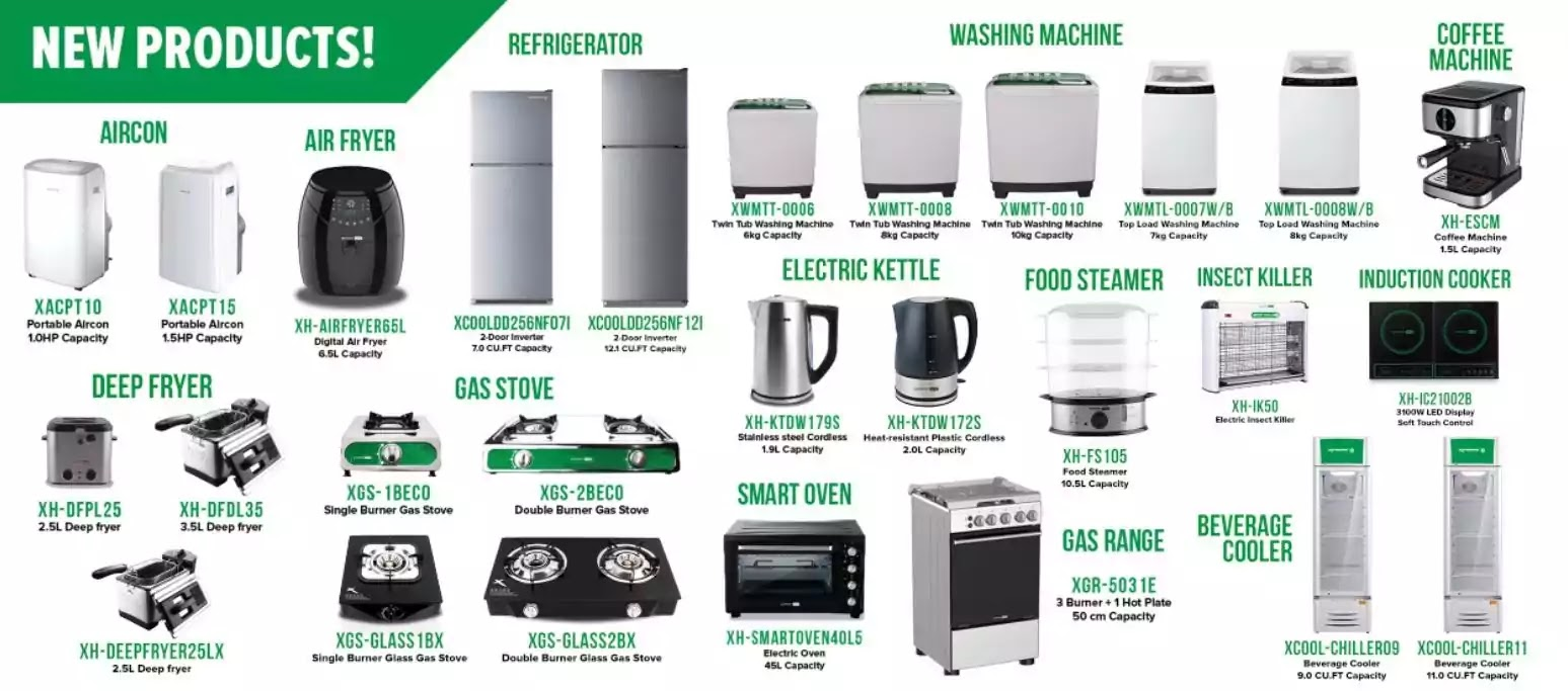 XTREME Appliance New Products