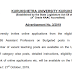 07 posts of Assistant Professor (Law) at Kurukshetra University