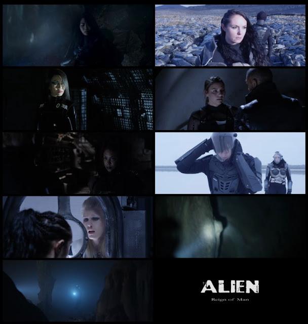 Alien Reign of Man 2017 Dual Audio 720p WEBRip