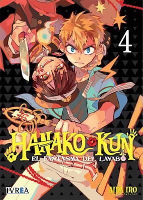 Review del manga Hanako-kun: el fantasma del lavabo Vol.4, 5, y6 de Iro Aida - Editorial Ivrea