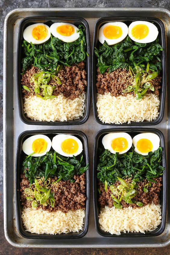 KOREAN BEEF BOWL MEAL PREP #recipes #healthyfoodrecipes #food #foodporn #healthy #yummy #instafood #foodie #delicious #dinner #breakfast #dessert #lunch #vegan #cake #eatclean #homemade #diet #healthyfood #cleaneating #foodstagram
