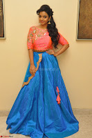 Nithya Shetty in Orange Choli at Kalamandir Foundation 7th anniversary Celebrations ~  Actress Galleries 009.JPG
