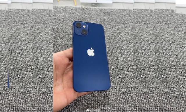 تسريب النموذج الأولي المصغر لـ iPhone 13 mini وقد تم وضع الكاميرتين الآن بشكل قطري