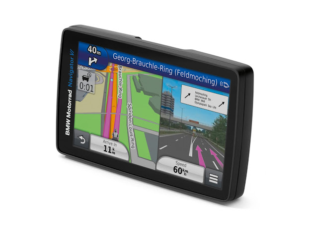 BMW Motorrad lança GPS Navigator VI