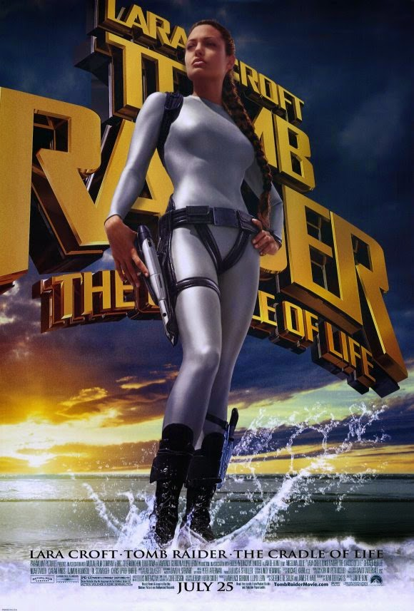 Original film poster Lara Croft Tomb Raider: The Cradle of Life movieloversreviews.filminspector.com