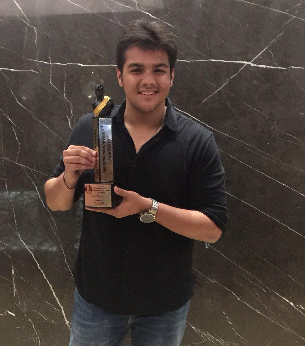 Ashish With Dada Saheb Phalke Awards