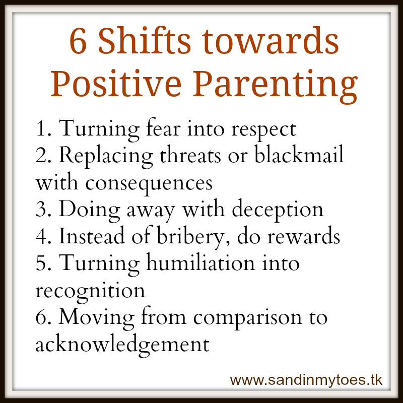 six tips for positive parenting