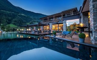 5 Sterne luxury Golf Lodge Andreus