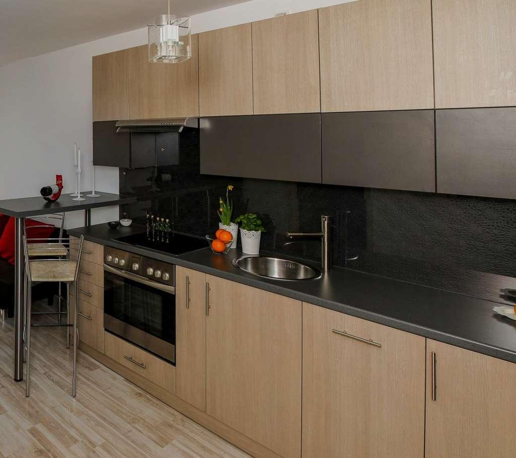 Kitchen Set Warna Kayu: Kitchen Set Minimalis Dari Kayu Olahan