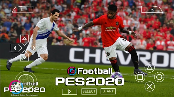 How To Download PES 2020 Game For Android 600MB Offline Mode (PSP Version) PS4 Camera View