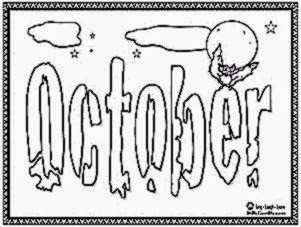 COLORING PAGES OCTOBER  Coloring Pages Printable