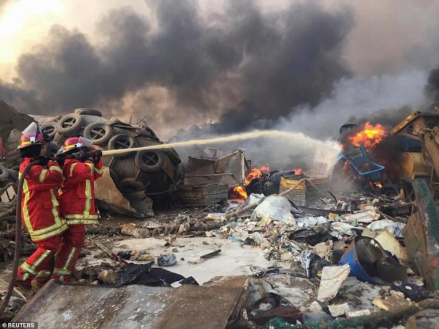 BREAKING NEWS: Massive explosion rocks Beirut