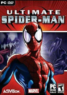 Capa do Ultimate Spider-Man