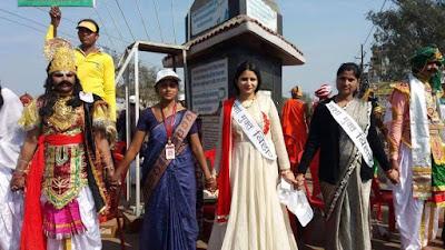 नालंदा में दिखा मानव श्रृंखला का उत्साह, अधिकारी से लेकर जनप्रतिनिधि तक डटे रहे सड़क पर