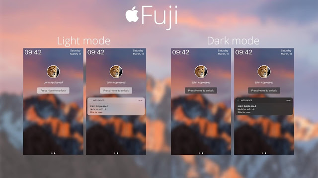 A new LockHTML theme called Fuji is the upcoming LockHTML theme that brings the macOS login screen to your lockscreen and will be available soon in Cydia via BigBoss Repo