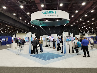 Siemens booth at RealizeLive