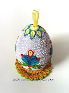 Jajko na ludową nutę