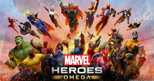 Marvel Heroes Omega: Free-to-play PS4/XBOX