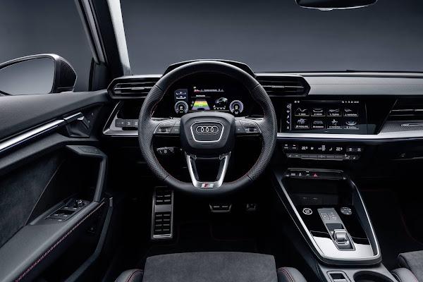 Audi A3 Sportback ganha versão híbrida plug-in com 245 cv