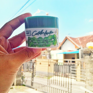N'pure centella asiatica cream