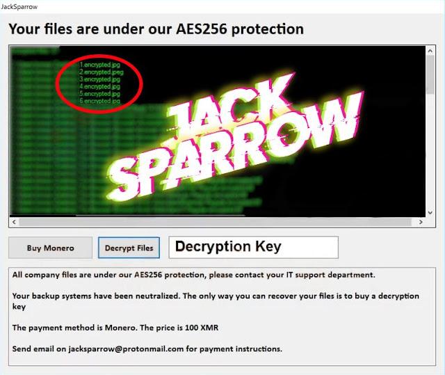 JackSparrow (Ransomware)