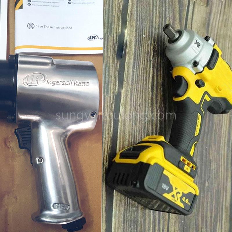 máy siết bu lông pin, súng xiết bu lông khí nén, súng vặn ốc, súng vặn bu lông