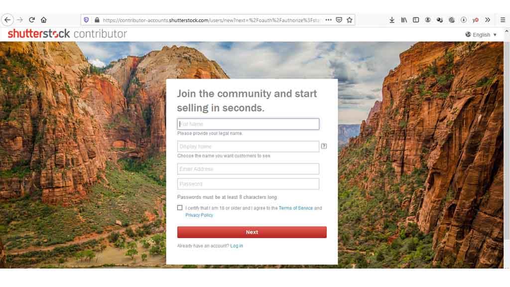 fajriology.com - Klik tombol 'Get started', maka akan muncul formulir atau blanko elektronik