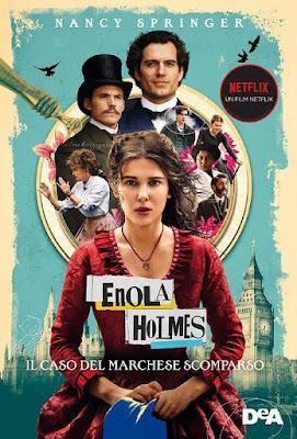 cover libro Enola Holmes Il caso del marchese scomparso di Nancy Springer