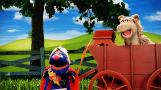Super Grover 2.0 The Cart Before the Horse, Horse, chicken, pig, Sesame Street Episode 4313 The Very End of X season 43