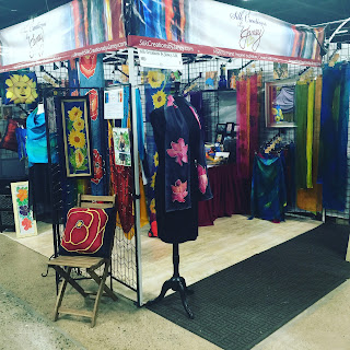 Silk creations by janey for Sugarloaf crafts festival gaithersburg md