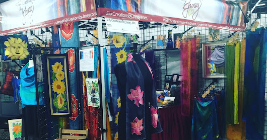 Silk Creations by Janey had a great weekend at the Oaks (Philadelphia), PA Sugarloaf Festival this past weekend!!!