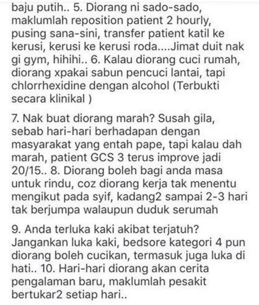 Antara Sebab Untuk Mengahwini Staff Nurse