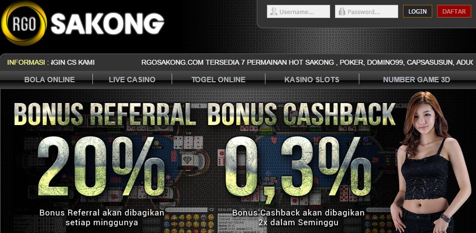 RGOSAKONG Agen Poker Online Terpercaya