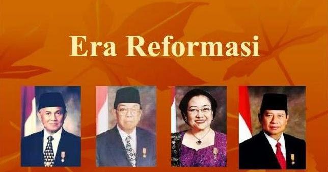 Sistem Pemerintahan Pada Masa Reformasi - INFO PELAJARAN